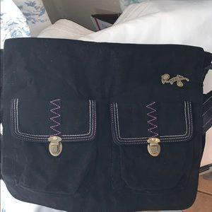 ROXY Corduroy Messenger Bag